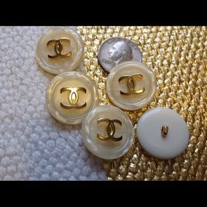 Set of Vintage Chanel buttons